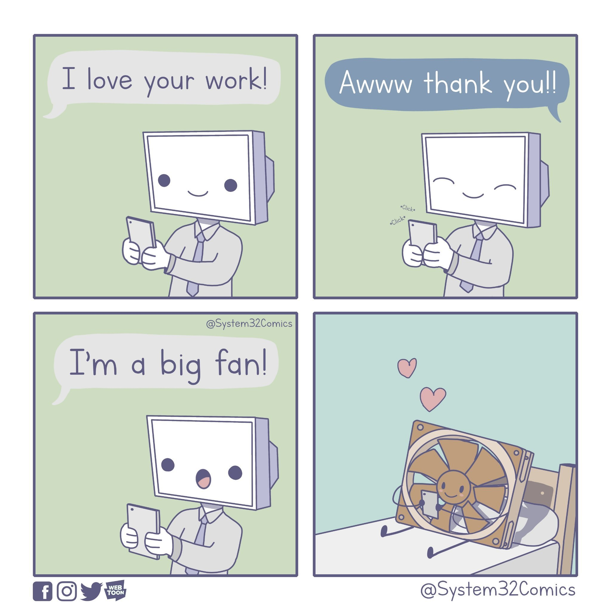 I Love Your Work - meme