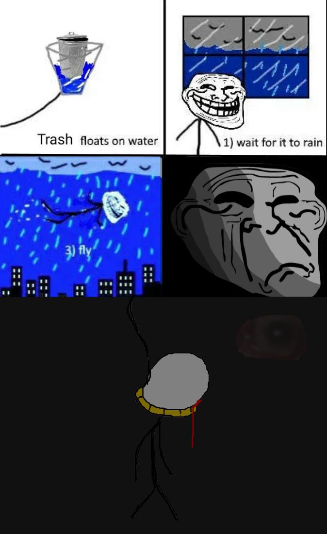 troleador cara edgy - meme
