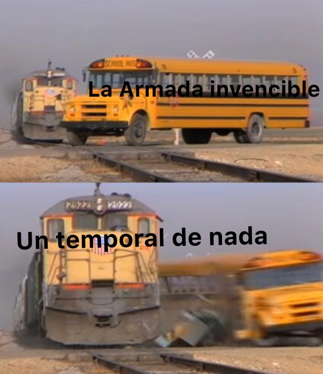 F por la armada invencible - meme