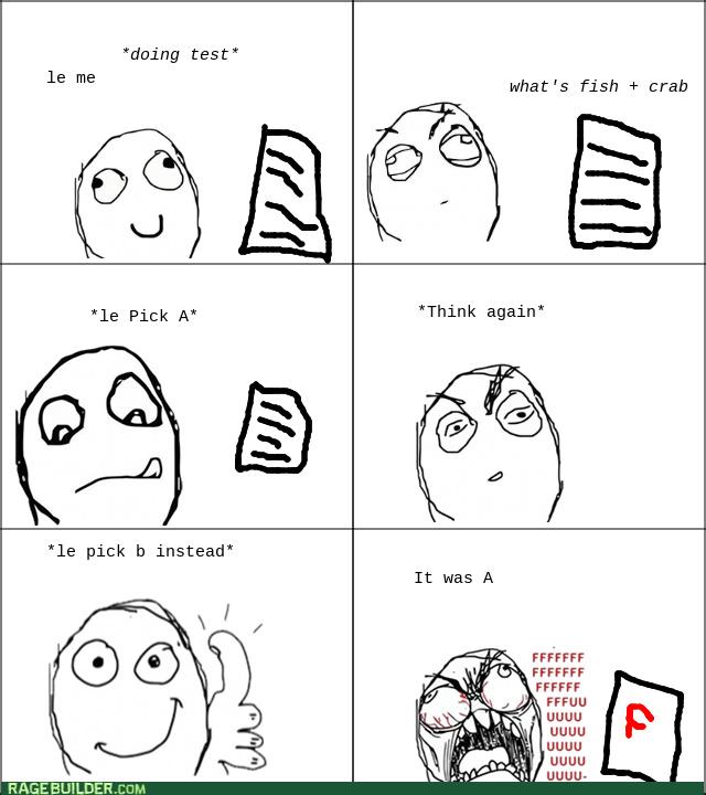 test be like - meme