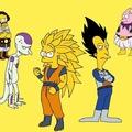 Simpsons Ball Z