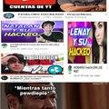Al parecer hay más casos de hackeos en YouTube, ojalá todo se solucione