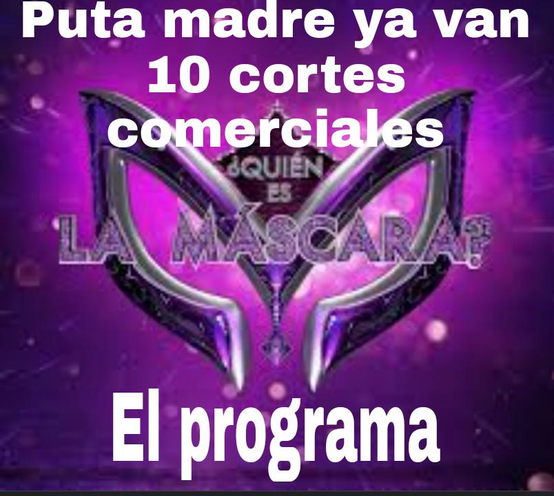 Si no entienden es porque es un programa mexicano - meme