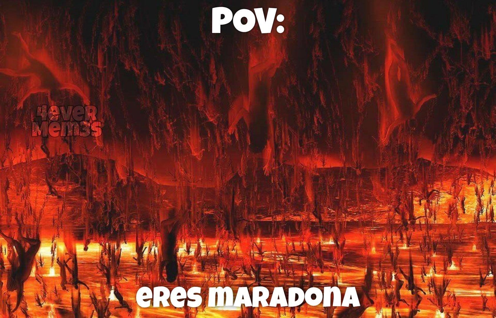 Maradona si - meme