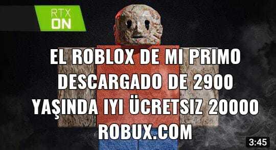Robux - meme