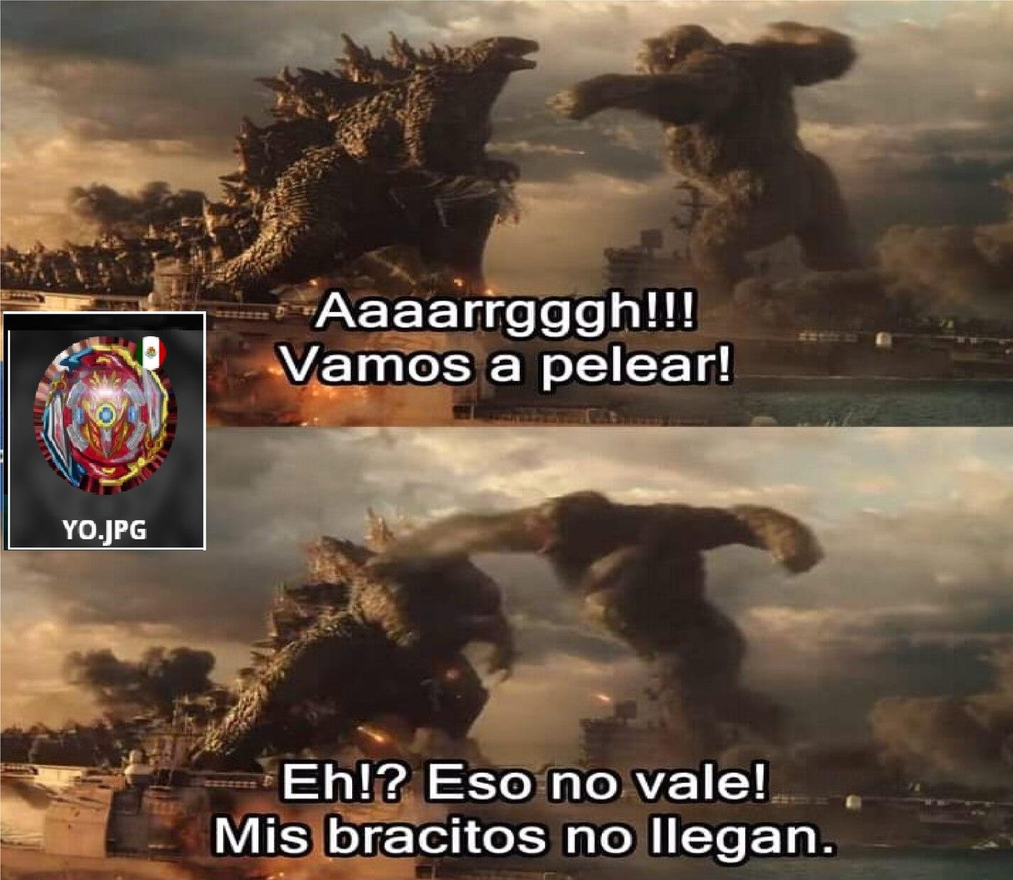 Godzilla Vs Kong Meme By Yo Jpg Memedroid
