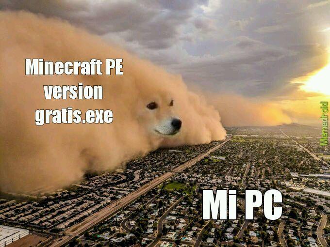 Al titulo se le daño la PC - meme