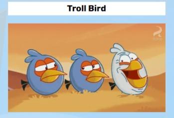 troll bird - meme