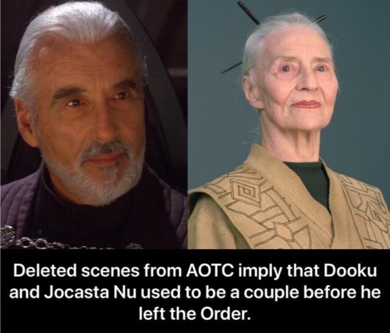 Dooku and Jocasta Nu - meme