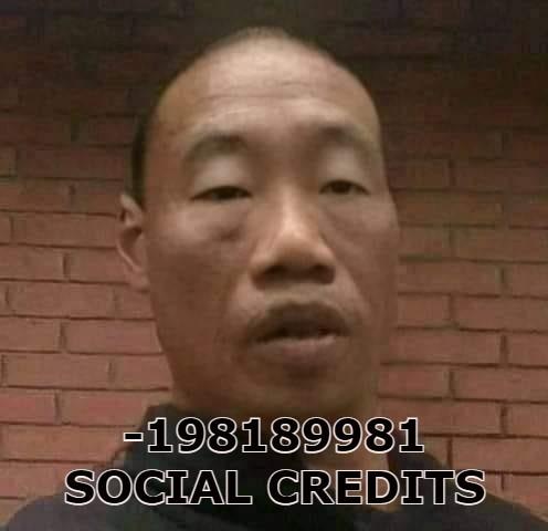 i cant get social credits - meme