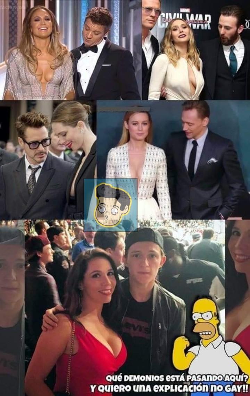 No me quiero venir señor Stark - meme