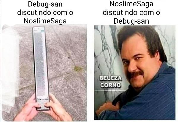 Debug-san gay - meme