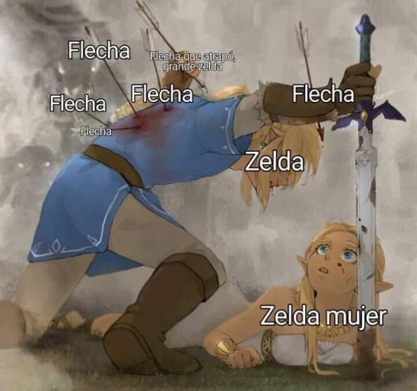 Que capo Zelda - meme