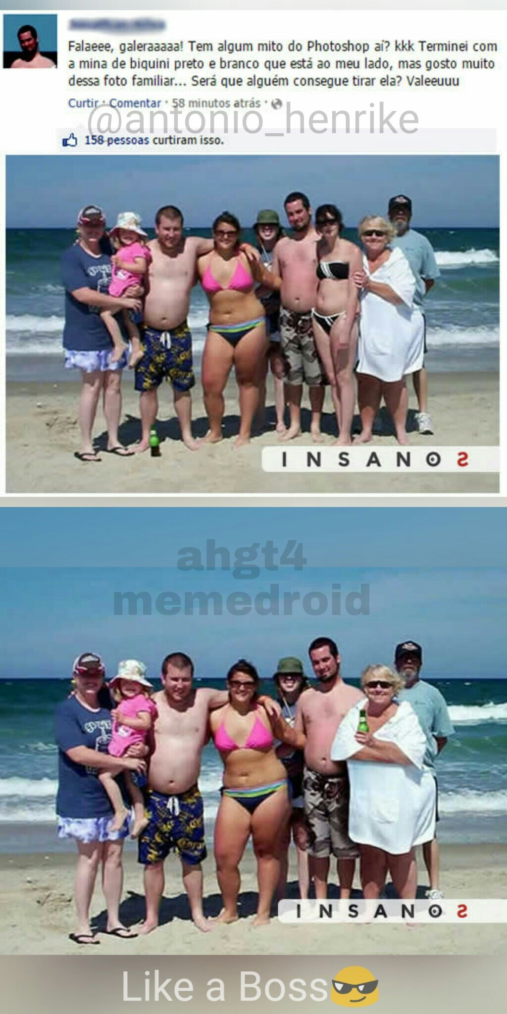 Like a boss do photoshop - meme