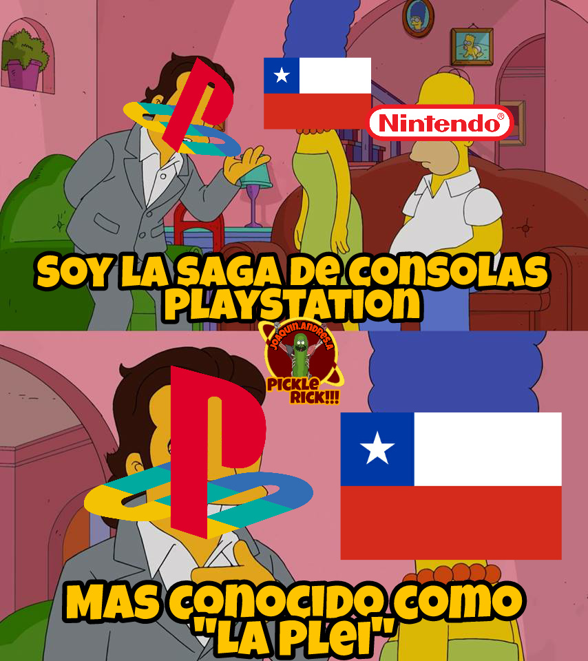 No se ofendan, también soy chileno xD - meme