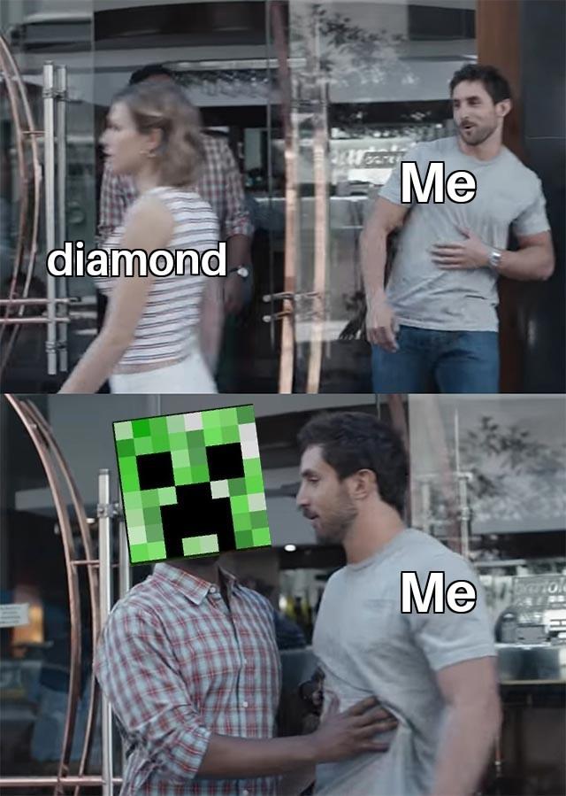 Io nella caverna - meme