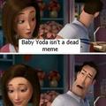 Baby yoda memes need to go away