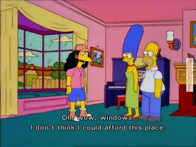 Windows are so expensive - meme