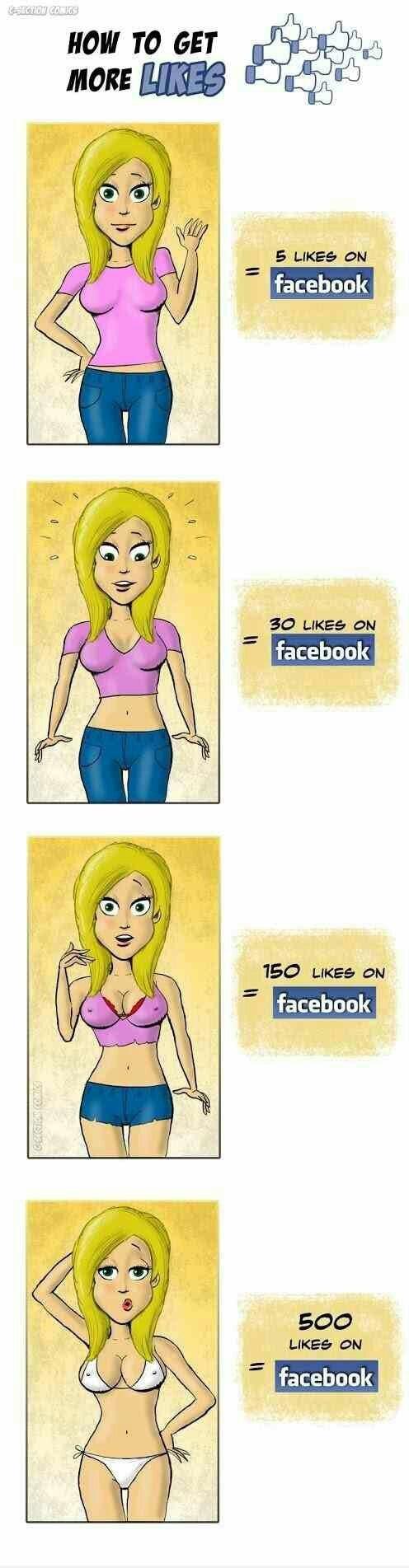 How Thots Get Likes - meme