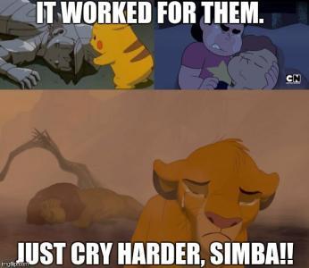 Tears will work - meme