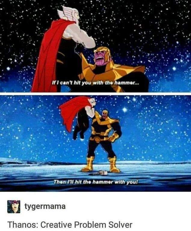 Hit the hammer - meme