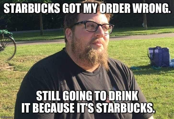 Starbucks hipster - meme