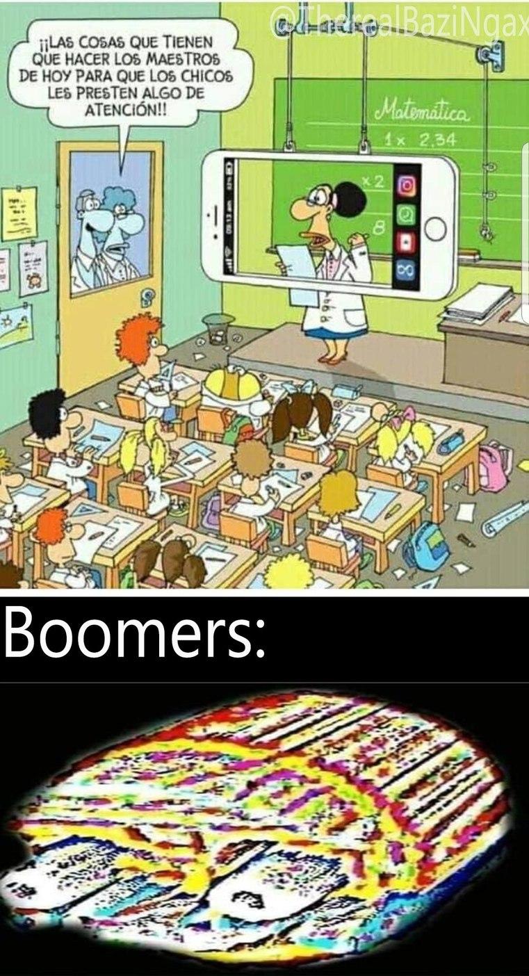 "No no, nada de ""ok boomer"" - meme"