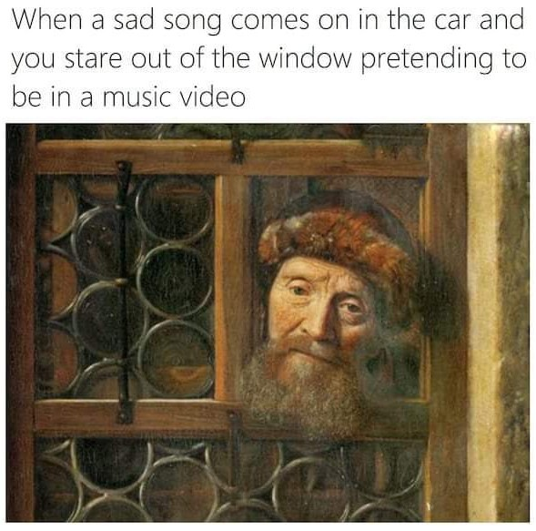 Sad time - meme