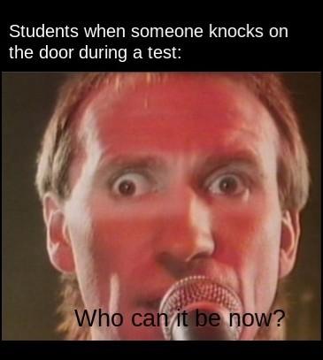 Whos gonna get the door? - meme