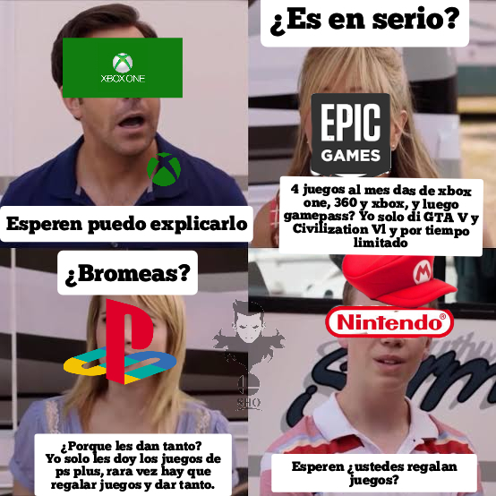 Ni por accidente regalas nada Nintendo :( - meme