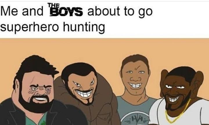 Yo and the boys - meme