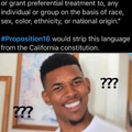 Racism on the ballot in California.