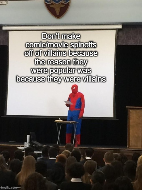 The only exception to this rule is Deadpool - meme