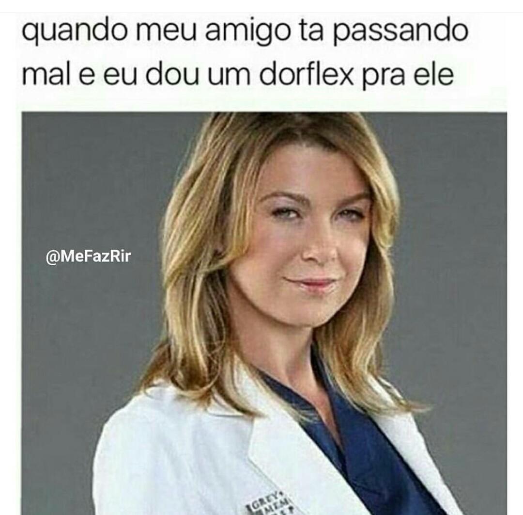 Esses médicos se pegam geral - meme