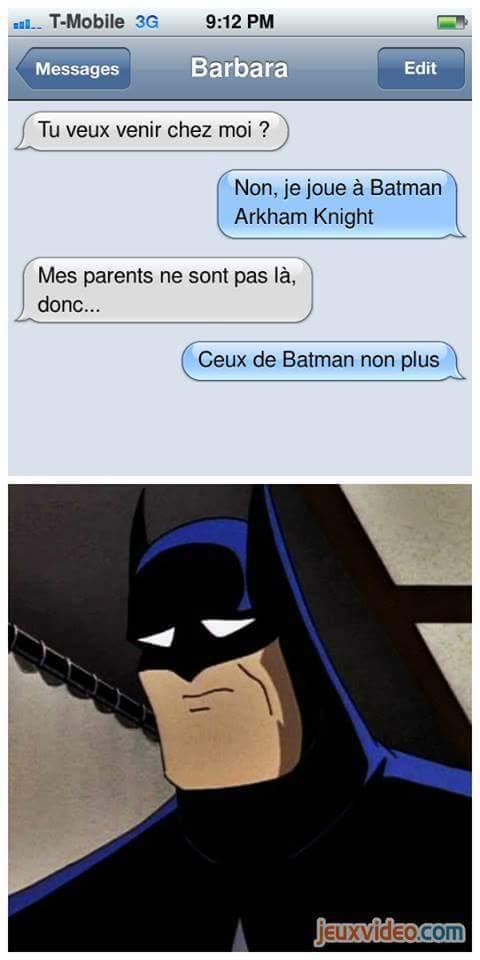 Pauvre Batman - meme