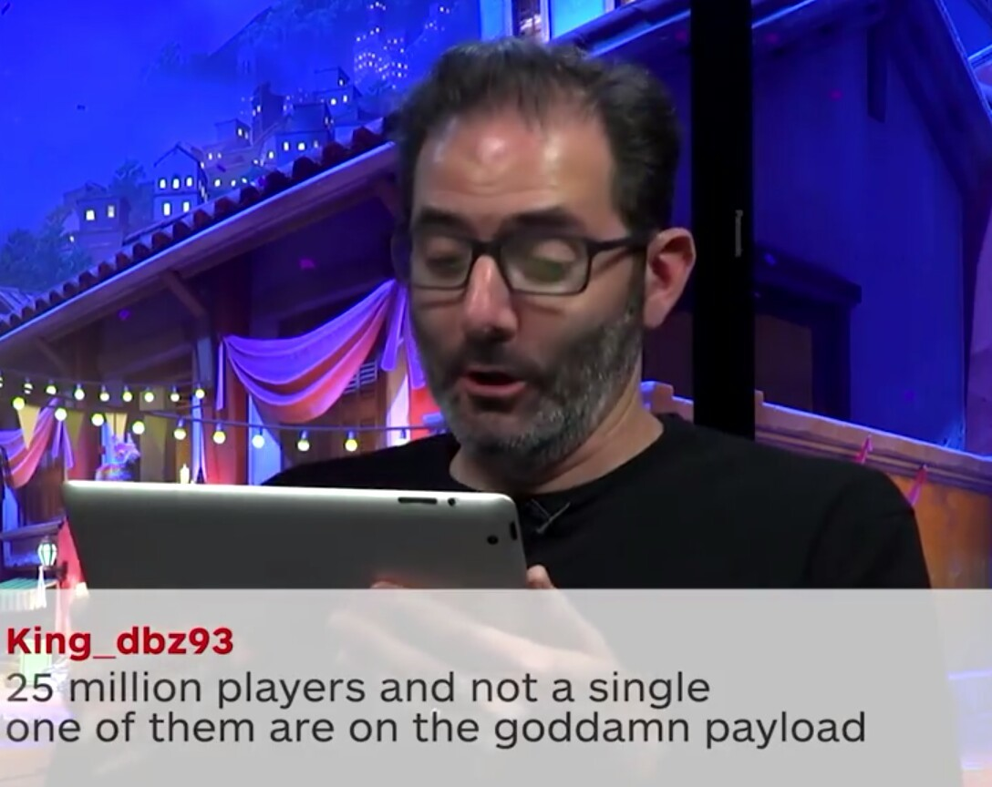 Stay on the damn payload - meme