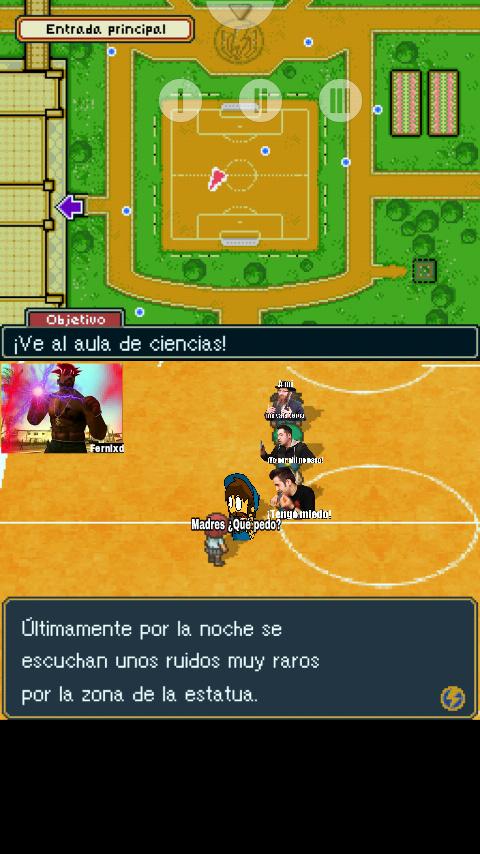 Juego: Inazuma Eleven (el primero) - meme