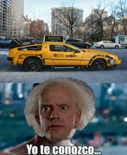 Delorean - meme