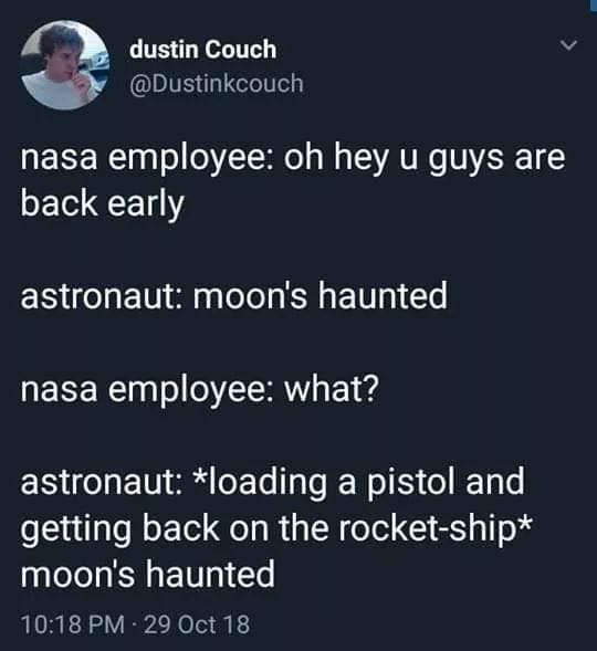 Moon's Haunted - meme
