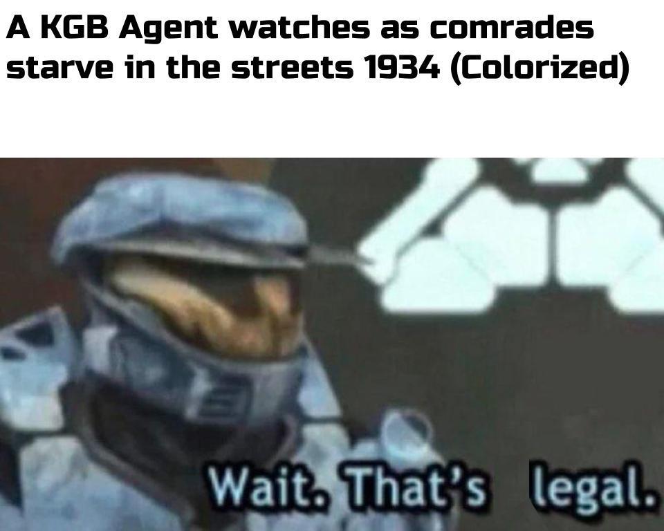 Wait. That's legal - meme