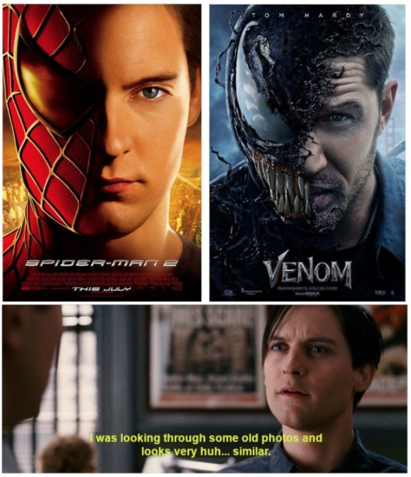 Thought the film's poster looked familiar - meme