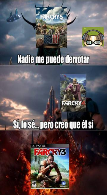 Viva far cry en general!!! - meme
