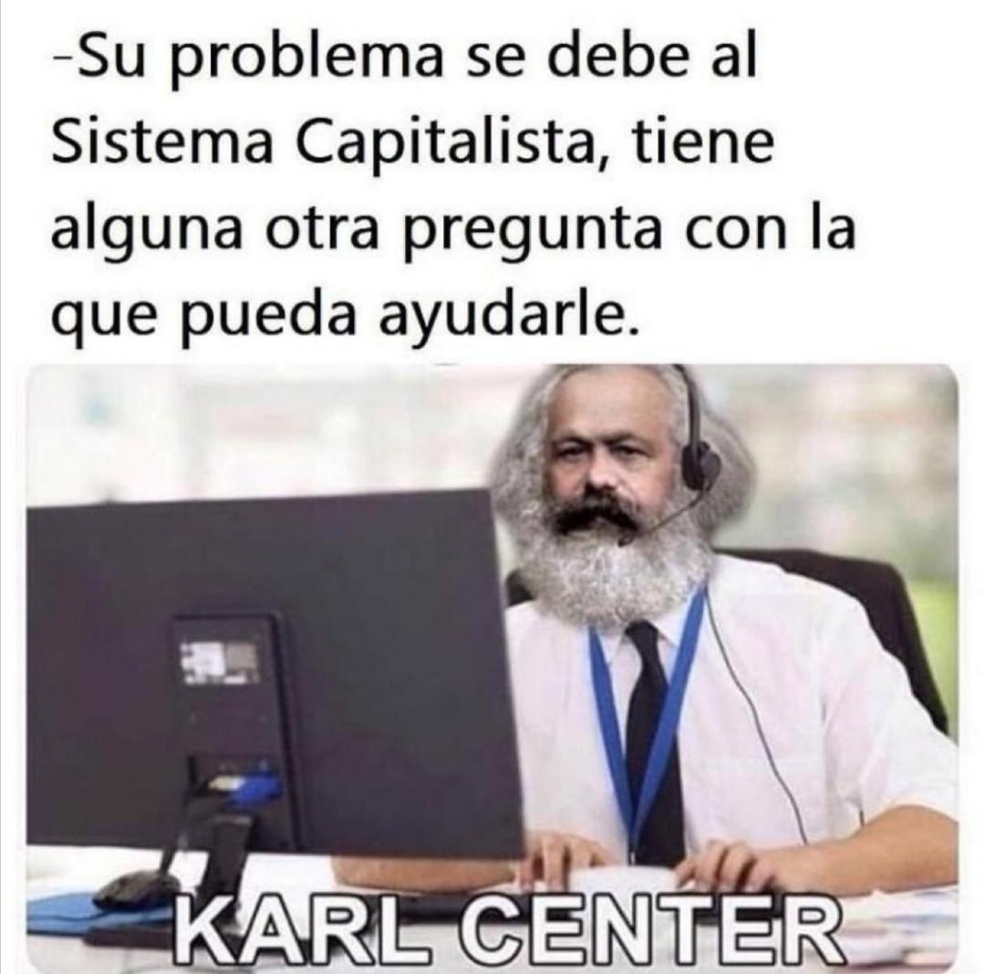 Karl center - meme