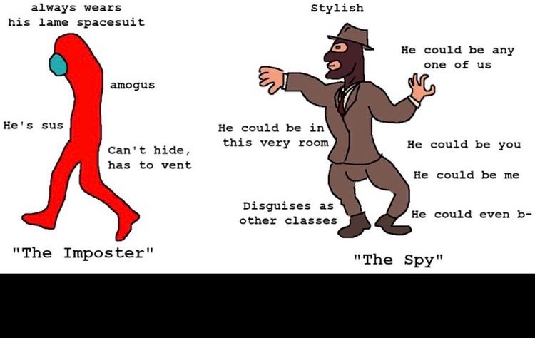 I am ze spy - meme