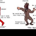 I am ze spy