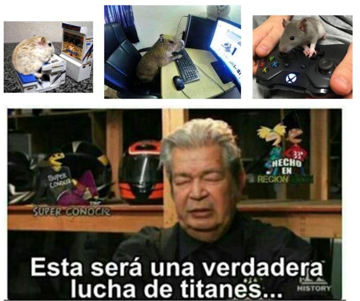 el mejor raton gamer - meme