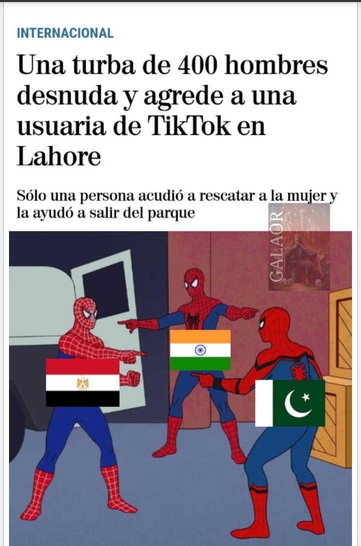 Lo primero ahora tengo marca de agua (así podréis distinguir mi basura de la del resto), lo segundo lahore está en Pakistán y lo tercero es que Tiktok merece morir . - meme