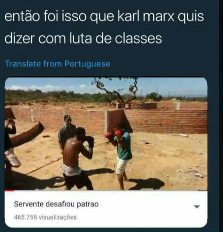 Luta de Classes - meme