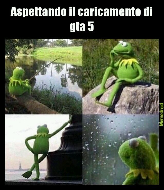 Waiting kermit - meme