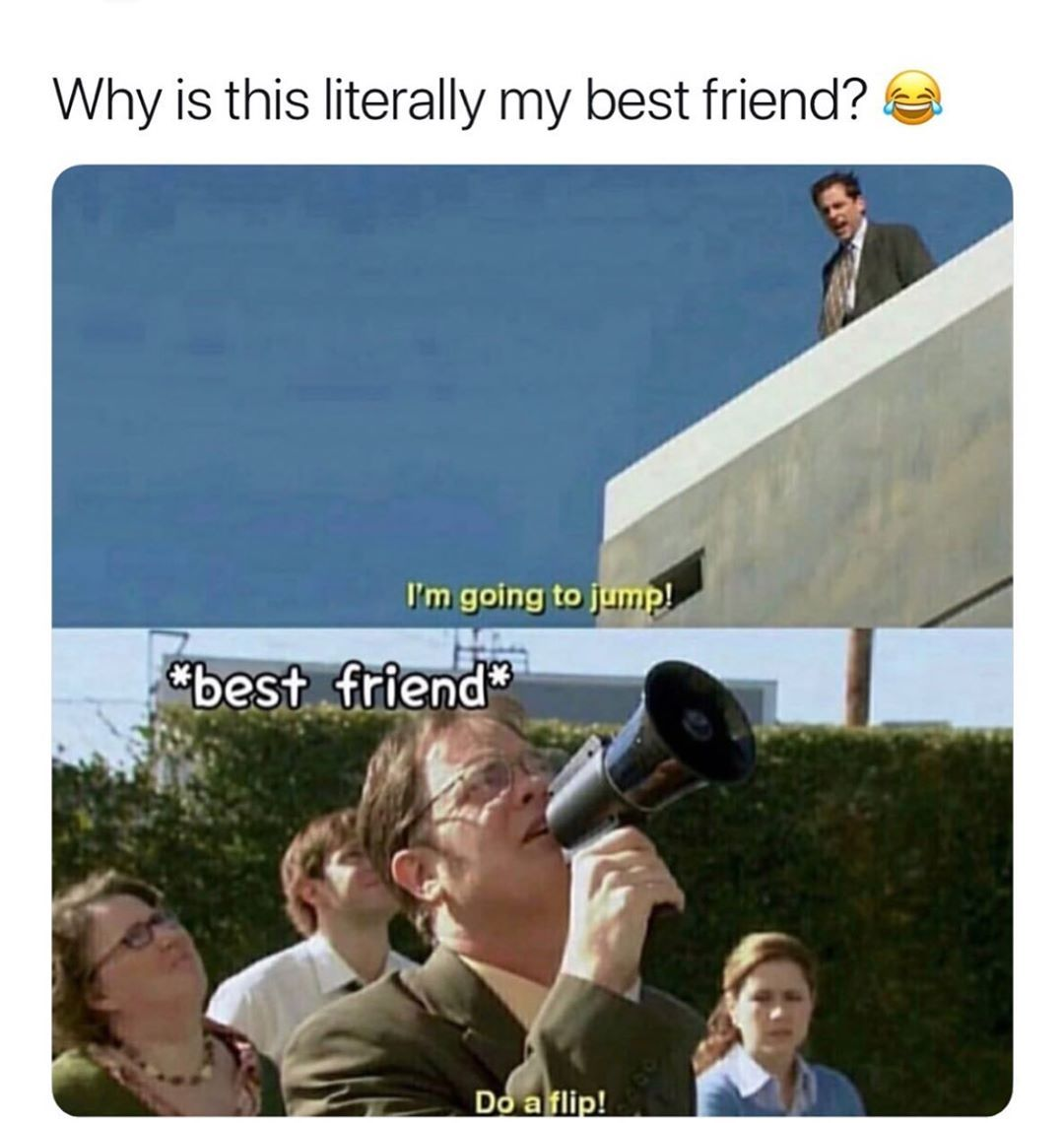 Love all my best friends - meme